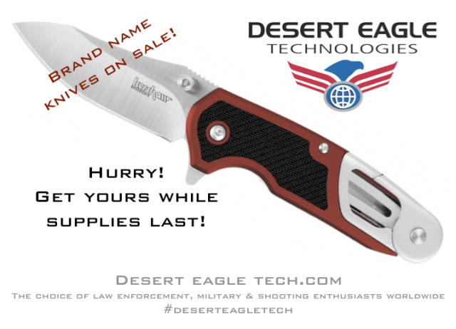 Desert Eagle Technologies is having a SALE