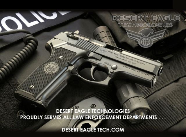 DESERT EAGLE TECHNOLOGIES Supports Law Enforcement . . .
