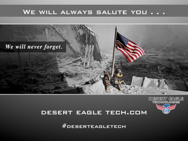 WE WILL NEVER FORGET . . .