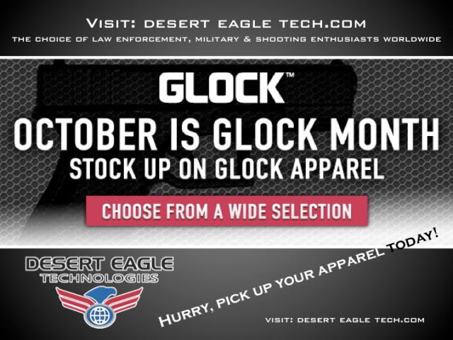 October Is GLOCK Month!